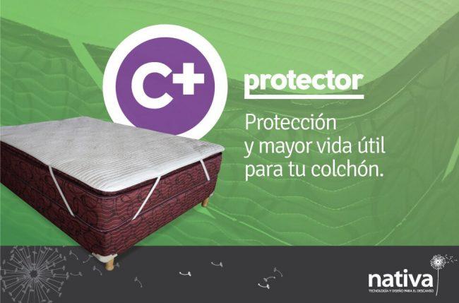 PROTECTOR DE COLCHÓN C+ - PERCAL Nativa